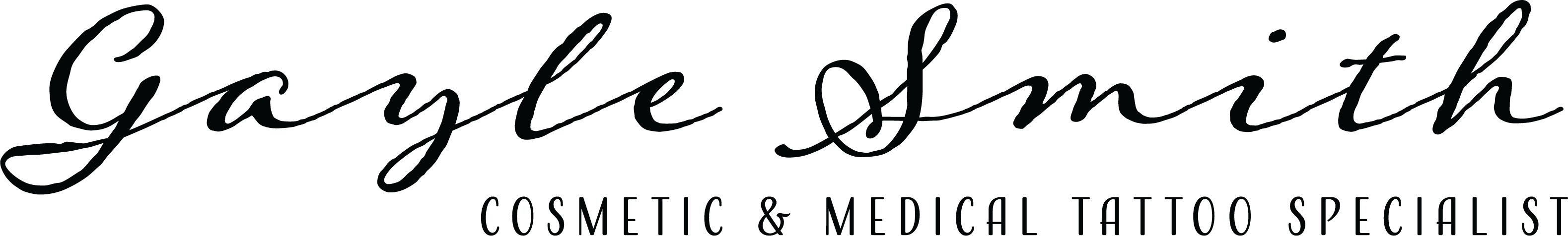 Gayle Smith - Cosmetic and Medical Tattoo Logo